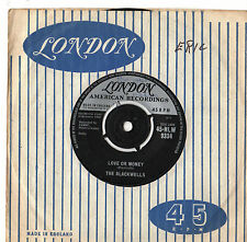 "Blackwells - Love Or Money 7"" Single 1960"