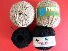 Phildar Detente & Lana Moro cotton yarn, mixed 4