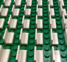 Lego Lot Of 100 White Wall Element 1x2x1 Plate New