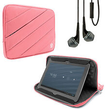 "Tablet Sleeve Pouch Stand Case Cover for Samsung Galaxy Tab S2 9.7"" + Earbud"