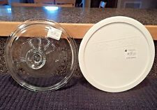 New Glass + Plastic Replacement Lids Corning French White 1.5 Qt Litre Casserole