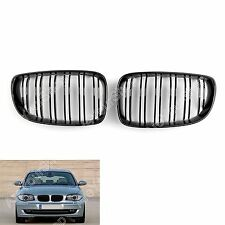 For BMW 1 Series E81 E87 E82 E88 128i 135i 2007-2012 Gloss Black Front Grille AU