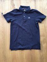 Adidas ESS 3S Herren Polo Shirt T-Shirt Sport Freizeit Hemd Grau Fußball DFB