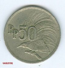 INDONESIA   -   BANK INDONESIA 50 RUPIAH 1971 COIN MONEY
