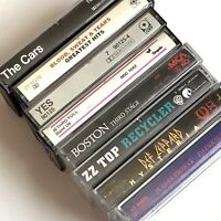 Lot Of 8 Rock And Hard Rock Cassette Tapes Judas Priest Def Leppard Jethro Tull