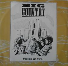 """BIG COUNTRY ~ Fields Of Fire ~ 12"""" Single PS"""