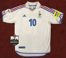 Maglia Zidane Francia Euro 2000 - Calcio Retro France Jersey Zinedine Real