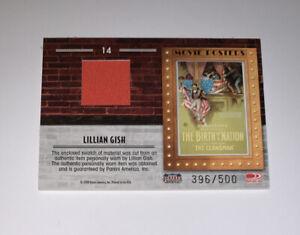 2009 Donruss Americana Movie Posters #14 LILLIAN GISH Birth Of A Nation #d /500