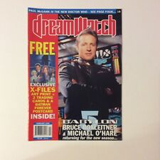 Dreamwatch Magazine #18 — Feb 1996 — Bagged with print, postcard & trading cards