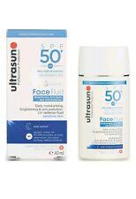 Ultrasun SPF50 Face Fluid Brightening, Anti-Spot And Anti-Pollution 40ml NEW