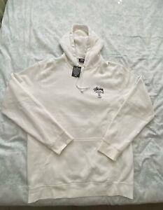 Stussy Men's XL Cream Hoodie Sweater