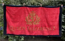 Cunard QE2 Queen Elizabeth 2 Deck Beach Towel Bath Sheet