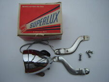 VINTAGE SUPERLUX CHROOM FRONT / HEAD LIGHT FOR BICYCLE - NOS - NIB