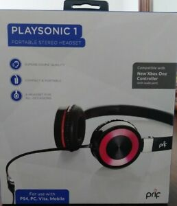 PRIF PlaySonic 1 Portable Headset - PlayStation 4 & For use with PS4 PC VITA