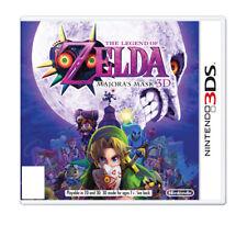 The Legend of Zelda Majora's Mask 3D Nintendo 3DS Excellent Used Free Ship