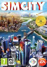 Simcity 2013 Sim City PC DVD XP Vista 7 8 Brand New Factory Sealed
