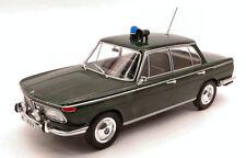 BMW 2000 TI (E120) 1966 Police Dark Green 1:18 Model MODELCARGROUP