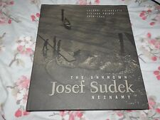 Unknown Josef Sudek Neznamy Salonni Vintage Prints 1918 1942 Hardback 2006