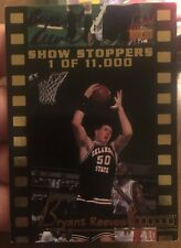 Bryant Reeves Oklahoma State Basketball Signature Rookies Insert autograph card
