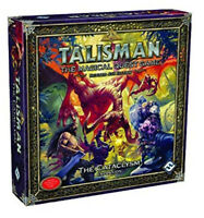 TALISMAN THE CATACLYSM EXPANSION Revised 4th Edition Magical Quest Board Game