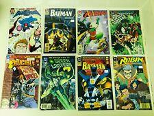 Signed DC Comics Lot Batman Robin Green Lantern Est. Value $305 Autographed