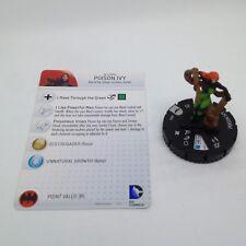 Heroclix Batman set Poison Ivy #034 Rare figure w/card!