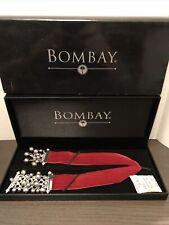 Bombay Black Pearl and Red Velvet BOOKMARK Brand NEW