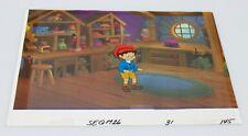 Pinocchio & The Emperor Animation Cel, Sketch, & Background of Pinocchio #16