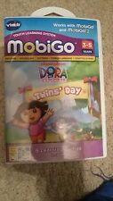 NEW VTech MobiGo Dora the Explorer Twins' Day Game
