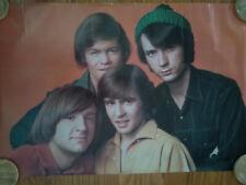 Vintage Poster The Monkeys Rock Band 1967 Original Roll Packaging