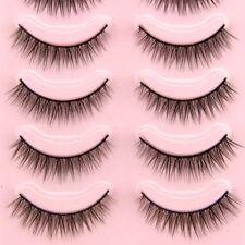 Handmade Natural Makeup Short eyelashes Thick Fake False Eyelashes Voluminous