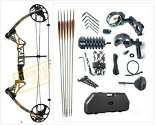 TOPOINT M1 15-70LB COMPOUND BOW & ARROW HUNTING TARGET ARCHERY