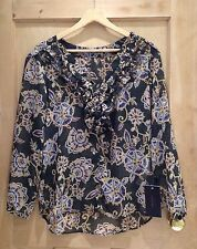 Zara Blouse V Neck Floral Tops & Shirts for Women