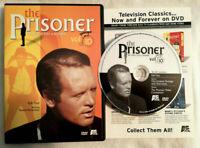 The Prisoner 1967 Vol 10 - Fall Out (DVD OOP R1 A&E 2001) Patrick McGoohan