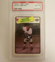 1988 O-Pee-Chee OPC Wayne Gretzky #120 PSA 8 Los Angeles Kings HOF Hall of Fame