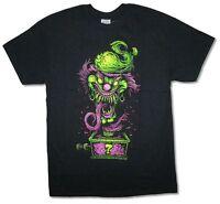 Insane Clown Posse Evil Riddler Jack in the Box Black T Shirt New Official ICP
