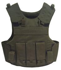 Einsatzweste Taktische Weste Body Armor Vest, grün Plate Carrier