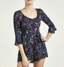 Paloma Blue 100% Silk Playsuit Small Net-A-Porter