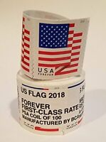 1 coil ~ Brand New Sealed Roll of 100 USPS Forever Postage Stamps ~Free Shipping