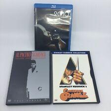 3 Dvds: 2010 / Scarface / Clockwork Orange