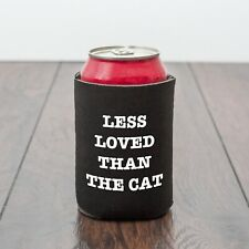 Funny cat themed beer can cooler/cat lover/beer lover/Drinking/Funny drinks gift