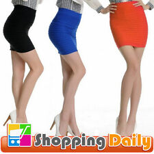 Chiffon Hand-wash Only Regular Size Mini Skirts for Women