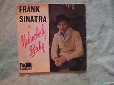 FRANK SINATRA 1961 VG/VG Fontana Records UK Import 45RPM EP TFE-17274 Vinyl