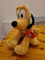 Disney Pluto Dog Plush Soft Toy Mickey for Kids. Bendy. 11""