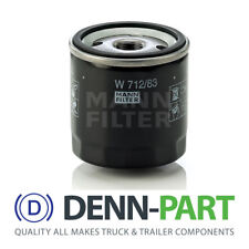 Genuine MANN-Filter Oil Filter W712/83 for Toyota