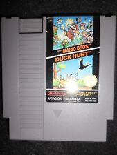 Super Mario Bros y Duck Hunt  para Nintendo Nes 8 bit usado