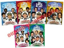The Love Boat Classic TV Series Complete All Seasons 1-3 DVD Set Vols Collection