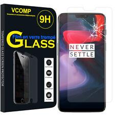 "Lot/ Pack Film Verre Trempe Protecteur Haute Qualite pour OnePlus 6 6.28"""