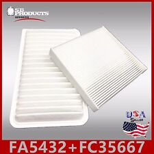 FA5432 FC35667 CA9360 CF10285 ENGINE & CABIN AIR FILTER ~ 2007-2011 CAMRY HYBRID
