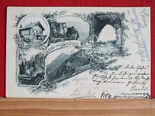 AK - Gruss aus Goldegg / Goldeck - Spittal a.d. Drau - Schutzhütte - gel 1903